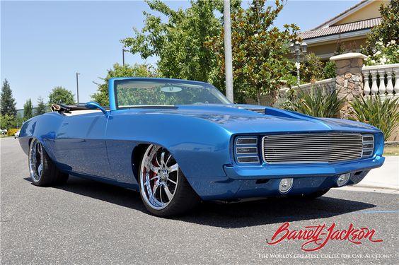 1969 Chevy Camaro, one word....Beautiful