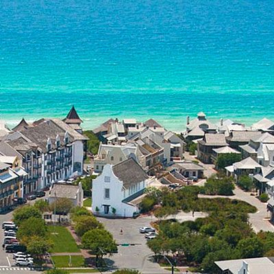 """Rosemary Beach, FL  Extras  Common """"green"""" areas are located throughout Rosemary Beach and provide places for reading, games, picnics and barefoot strolls, as well as outdoor events."""