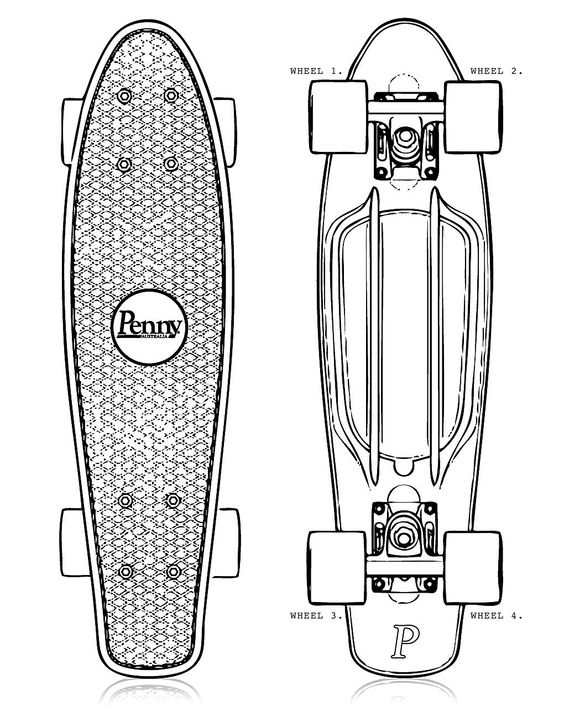 watershed penny skateboards custom penny skateboard