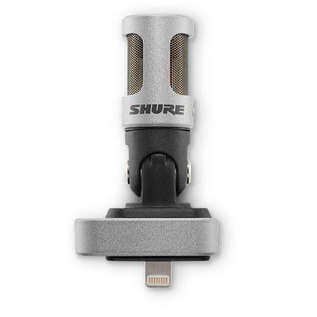 Microfone condensador digital Shure Iphone/Ipad