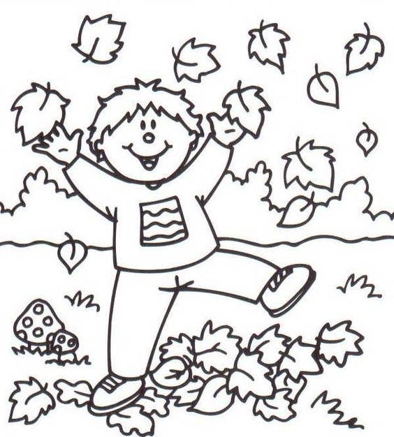 Img dessins a colorier automne thema herfst kleuters theme autumn preschool automne - Dessins automne ...
