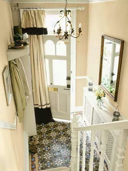 Pinterest the world s catalog of ideas for Front door curtain ideas