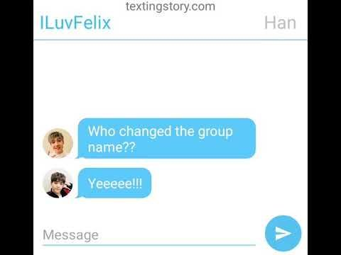 Stray Kids Groupchat Texting Story Read Desc Youtube Texting Story Texts Messages