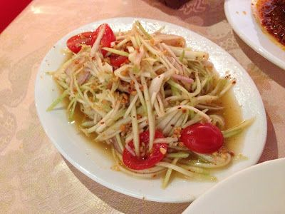Papaya salad Koh Nangkam Southern Thai revisited in their new location of Jalan Kledek |Living in Sin