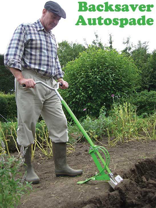 Backsaver Autospade With Images Garden Tools Garden Tools