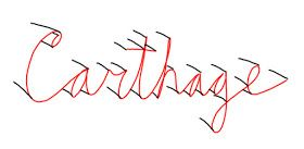 RIBBON LETTERS!  This is a simple technique for getting a ribbon style letter. There are a lot of different techniques out there, but thi...