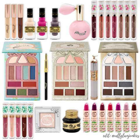 Brand Pretty Vulgar Cosmetics Beauty Make Up Makeup Cosmetics