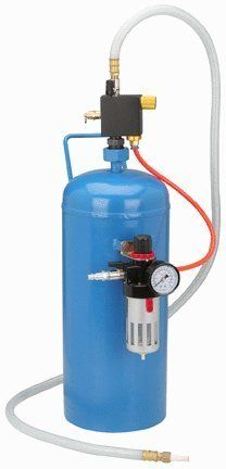 100lb Portable Soda Pressure Abrasive Upgrade Air Sandblaster.