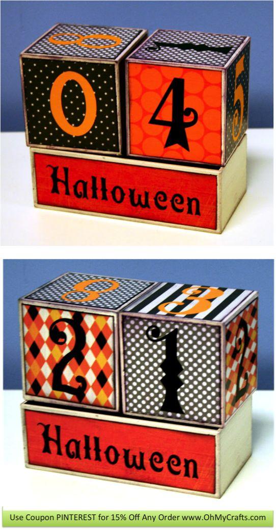 Halloween countdown, Halloween and Advent on Pinterest