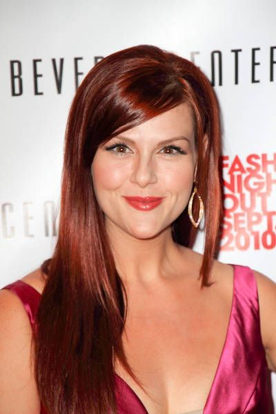 Sara Rue At Fashion 39 S Night Out At The Beverly Center In Los Angeles September 10 2010 Hair