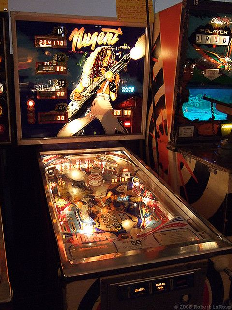 Ted Nugent Pinball Machine Games And Toys Pinterest