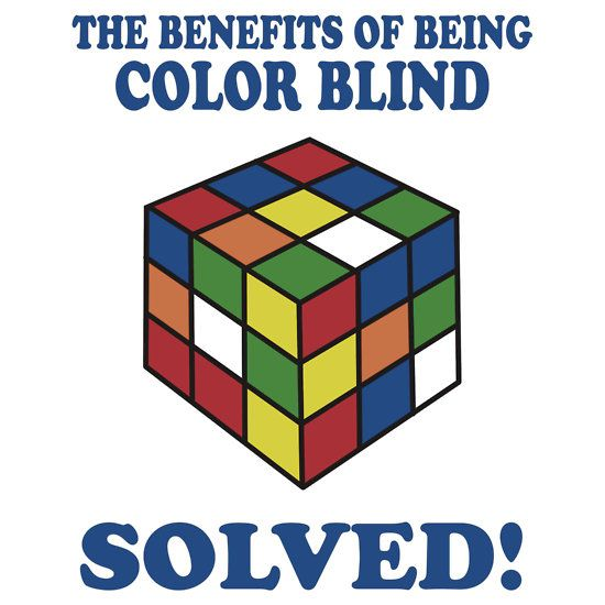 The Benefits Of Being Color Blind