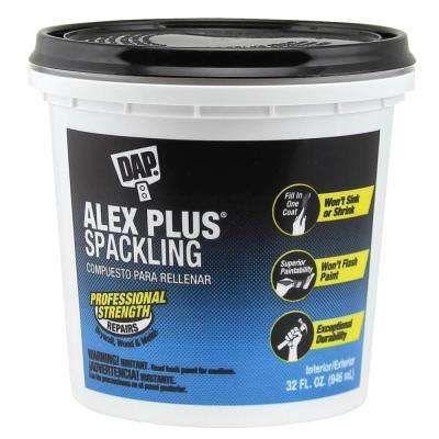 Alex Plus 32 Oz High Performance Spackling Paste Banos Pequenos Banos