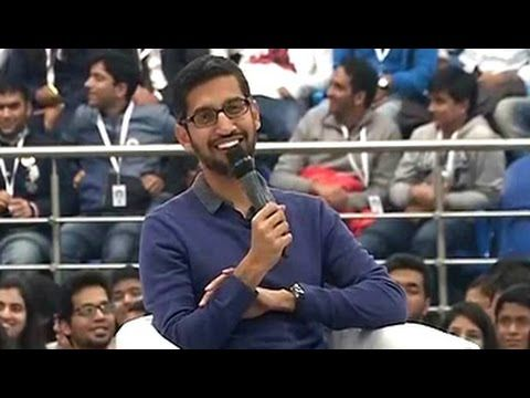 'I wasn't exactly a good guy in school,' says Google's Sundar Pichai