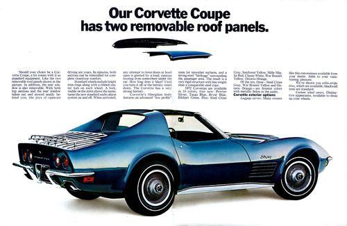 1972 Corvette Stingray Coupe T Tops In 2020 Corvette Chevrolet Corvette Chevrolet Corvette Stingray