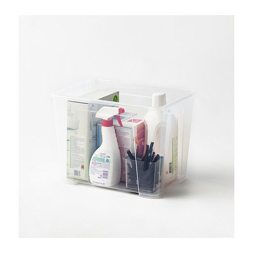 SAMLA Box IKEA Perfect for sports equipment, gardening tools or laundry and cleaning accessories.