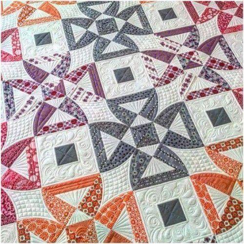 Twisted Blossom Quilt - Free Pattern (Beautiful Skills - Crochet ...
