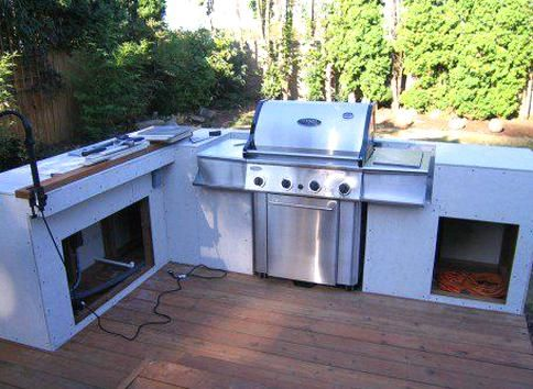 Dont Buy An Expensive Outdoor Kitchen And Bbq Island Set From The Store It Is Easy Cheap A In 2020 Build Outdoor Kitchen Diy Outdoor Kitchen Outdoor Kitchen Appliances