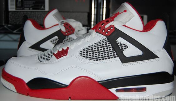Epic look at the Air Jordan 4 Fire Red 2012  http://www.sneakerfiles.com/