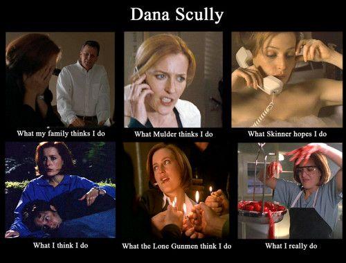 The X Files Fan Art Haha Dana Scully Meme Xd X Files X Files Funny Dana Scully