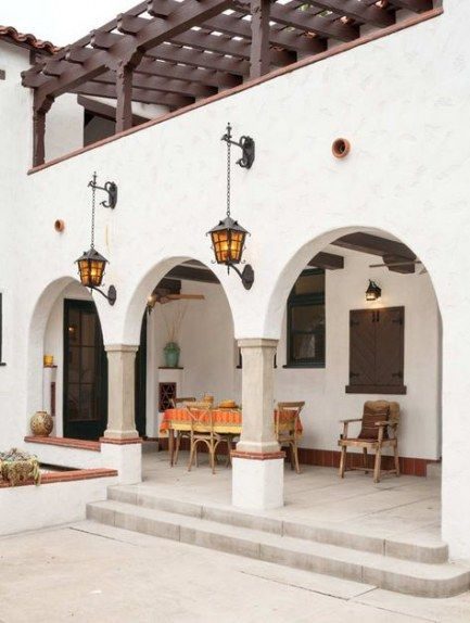 Super House Vintage Design Porches 67 Ideas Spanish Style Homes Hacienda Style Homes Spanish House