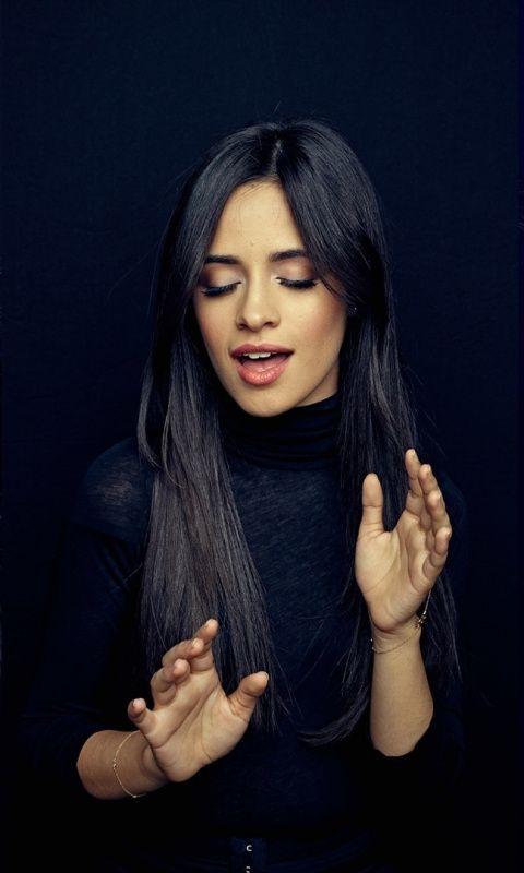 Collage Singer Gorgeous Camila Cabello 480x800 Wallpaper Celebrity Beauty Camila Cabello Celebrity Wallpapers