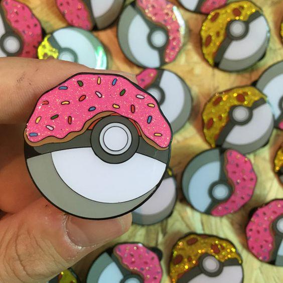 Pokémon x The Simpsons enamel pin badges