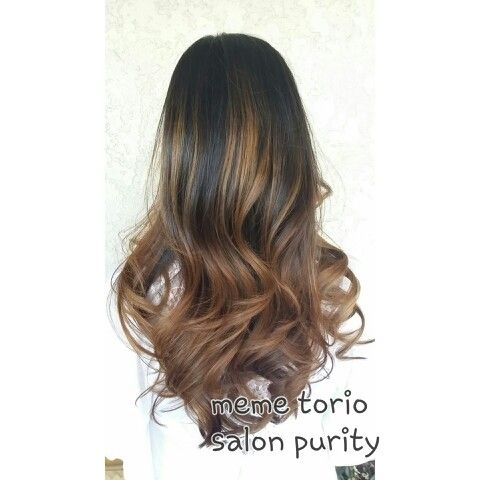 Golden brown balayage ombre hair pinterest brown balayage ombre