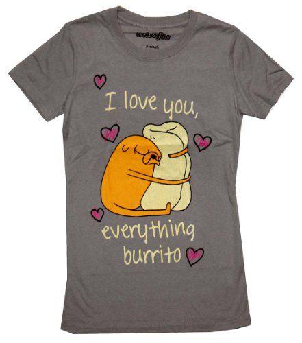 Adventure Time I Love You Everything Burrito Cartoon Jrs Babydoll T-Shirt Adventure Time http://www.amazon.com/dp/B008GVG9UA/ref=cm_sw_r_pi_dp_uq8Hub02P0NJE