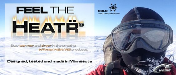 WSI Sports makes a high performance built in hood that heats up! A very innovative product for the below zero outdoor adventures. 100% Made in USA find it @ WSISports.com