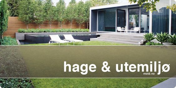 Inspirasjon til hage og utemiljø, terrasse, veranda, vinterhage ...