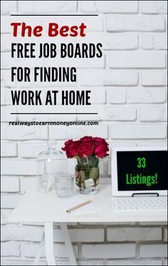 33 Work at Home Job Search Resources That Are Totally FREE to Use