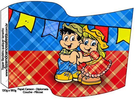 Bandeirinha Festa Junina::