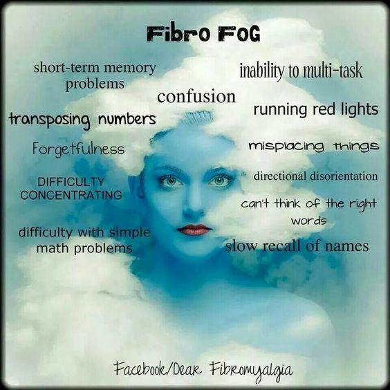 Fibro Fog - can you relate to these fibromyalgia symptoms? #fibro #fibromyalgia