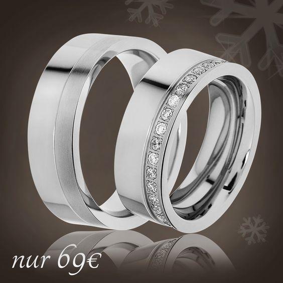 💖 Partnerringe als Weihnachtsgeschenk 💖 🔸 Überraschen Sie Ihre/n Liebste/n zu Heiligabend 🔸 Nur noch 69€ / Paar 🔸 inkl. Versand 🔸 inkl. Gravur 🔸 inkl. Ring-Etui