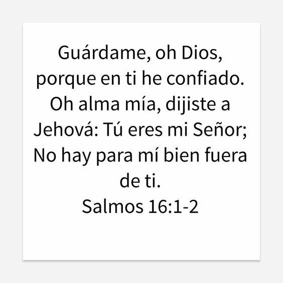 Salmos 16:1-2