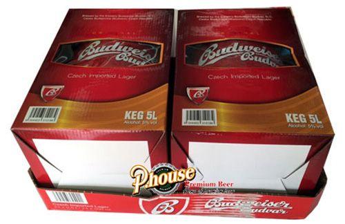 Bia Budweiser Budvar 5l