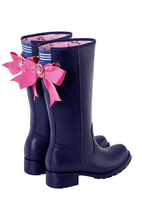 Sailor Moon Serena Cosplay Boots Shoes