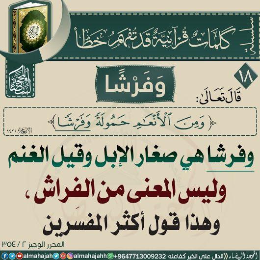 مسابقات قرآنية ماذا تفهم من الآية بالصور Quran Verses Quran Tafseer Islam Facts