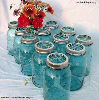 Phantastic Phinds: 32 Ways to Redo, Reuse, Repurpose Vintage Mason Canning Jars