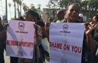 Ajang Oscar Diwarnai Aksi Demonstrasi