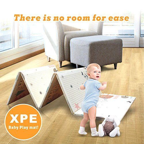 Baby Crawl Pad Foldable Baby Green Picnic Mat Xpe Crawling Cushion For The Baby Home Using With A 1cm Two Sided Thre Toddler Outdoor Baby Play Mat Baby Gym Mat