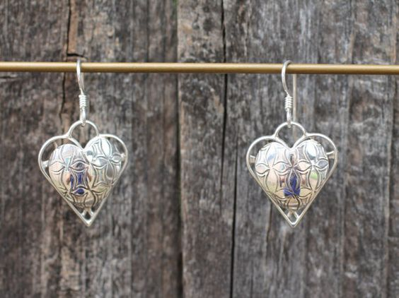 Hey, I found this really awesome Etsy listing at https://www.etsy.com/listing/248753197/heart-sterling-silver-earrings