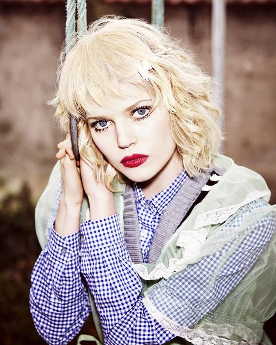 Model Ola Rudnicka (@ola_quetal) photographed by Ellen von Unwerth (@ellenvonunwerth) for Numéro Tokyo April 2016 (@numerotokyo). Stylist: @gaellebon1 | Hair: @sebastienbascle | Makeup: @williambartelmakeup | Manicure: @conradchristina. by fashionphotographyappreciation