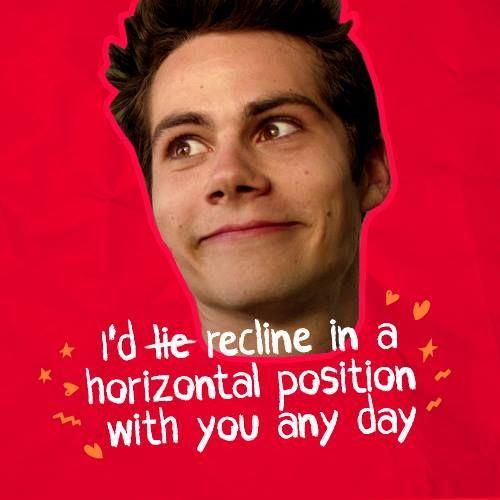 Happy Valentineu0027s Day From #TeenWolf + Endless Love! #StilesStilinski | Teen  Wolf Cast | Pinterest | Teen Wolf, Wolf And Teen