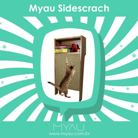 Este aparador foi desenvolvido para ser acomodado em qualquer parede, pois é móvel e com proteção anti-derrapante, fornecendo uma solução elegante e funcional, proporcionando ao seu gato um lugar com estilo para esticar e arranhar. Conheça: http://ow.ly/sqoh303PXnr #gatos #euamogato #cats #cat #gato #instacat #catstagram #catlover #gatosdeinstagram #catlovers #meow #catoftheday #instacats #ilovemycat #lovecats #amogatos