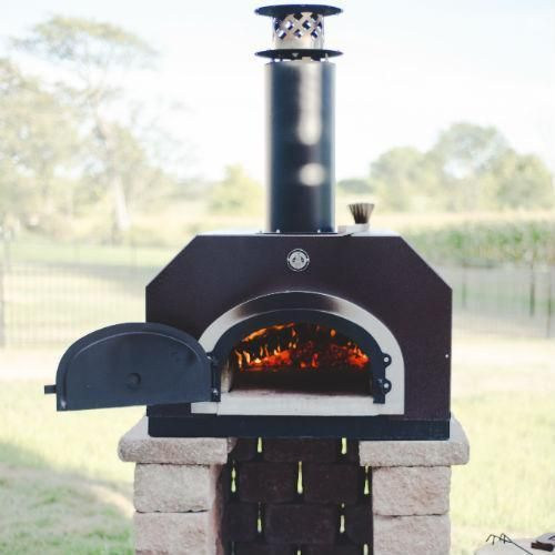 Chicago Brick Oven Cbo 750 Countertop Outdoor Wood Fired Pizza