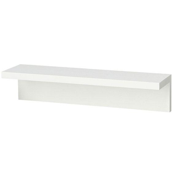 【店舗限定】壁に付けられる家具・棚・幅44cm・タモ材/ライトグレー