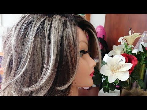 عمل ليماش بلاتين بالبوني Youtube Hair Styles Long Hair Styles Beauty