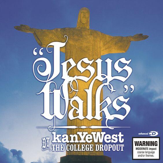 Kanye West – Jesus Walks (single cover art)